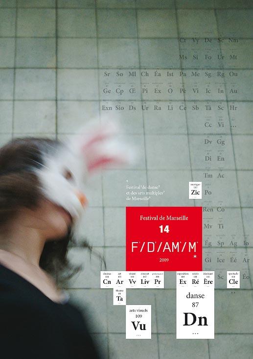 Affiche FDAmM, étude